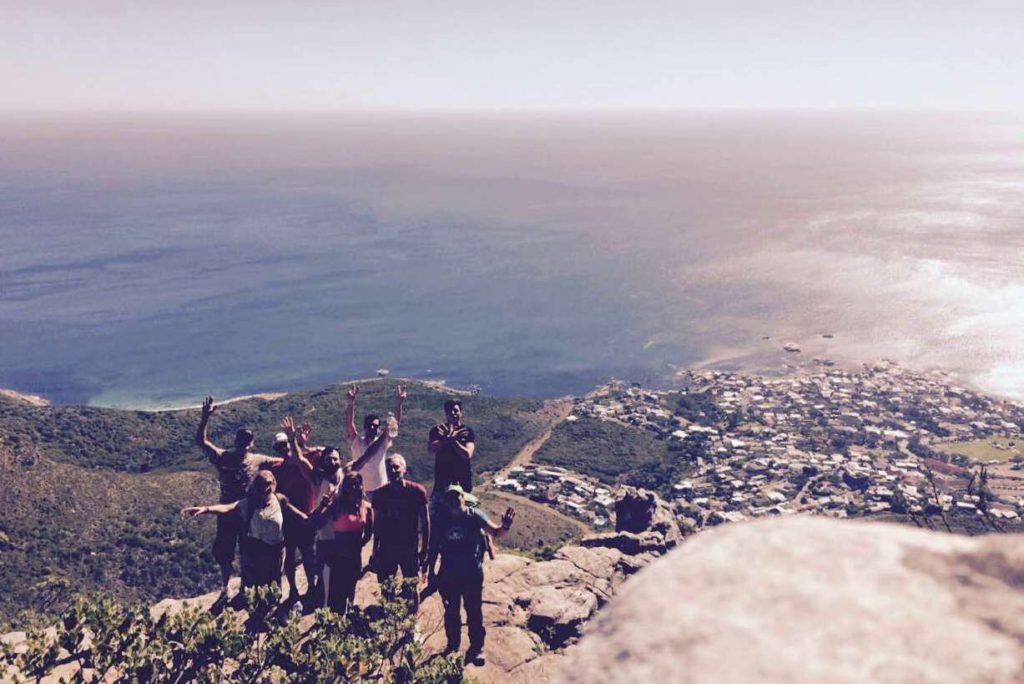 guided hiking cape town